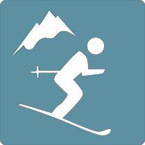 skiing-Icon